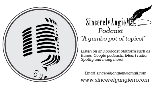 SIncerely Angie podcast bc